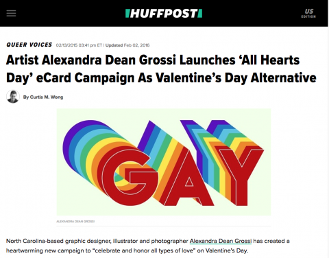 All Hearts Day Featured on Huffington Post