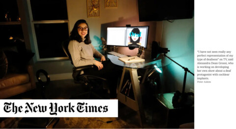 New York Times   As More Deaf People Are Seen on TV, Others Want to Be Heard